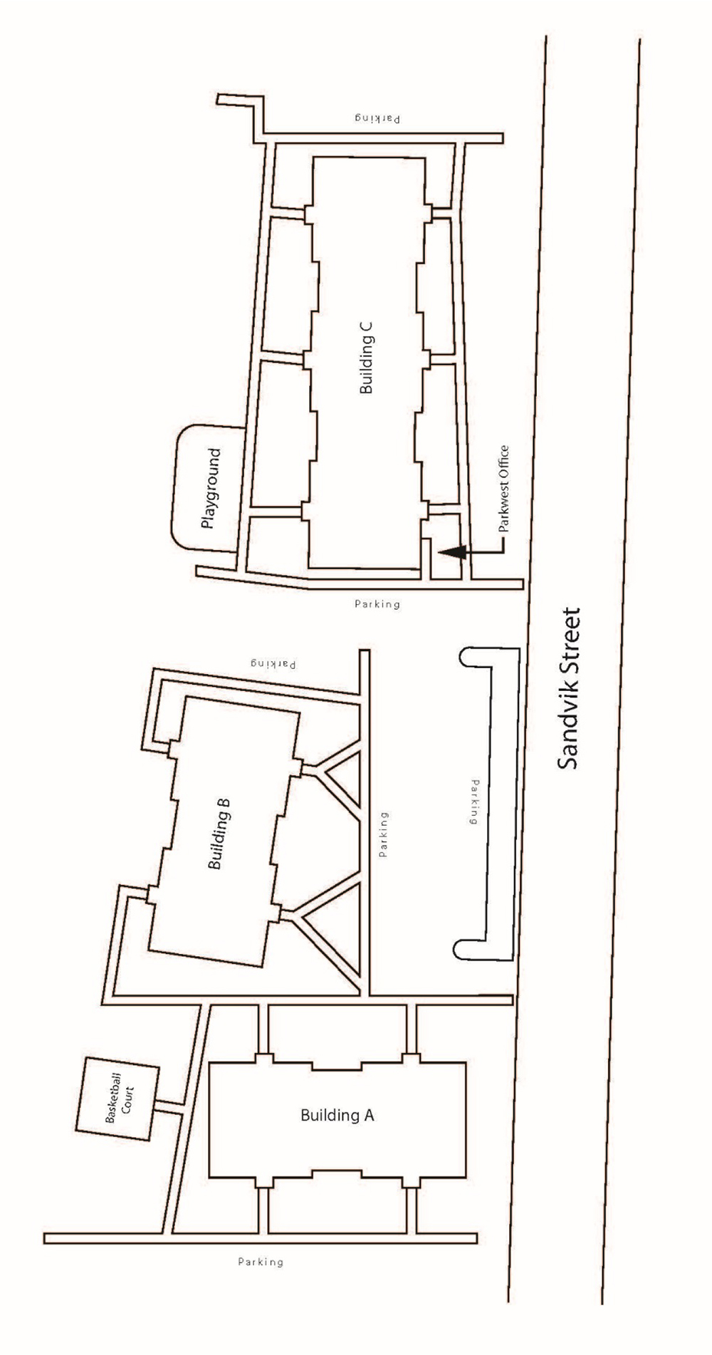 Parkwest Property Map